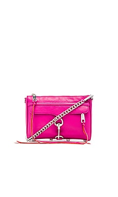 Rebecca Minkoff Mini MAC in Magenta