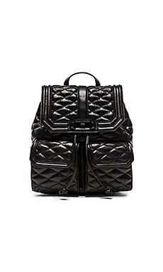Rebecca Minkoff Love Backpack in Black & Black