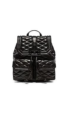 Rebecca Minkoff Love Backpack in Black & Black