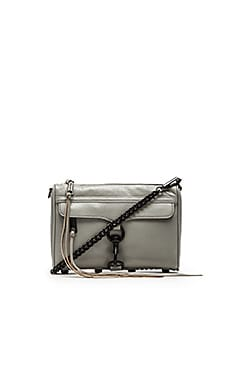 Rebecca Minkoff Mini MAC in Charcoal