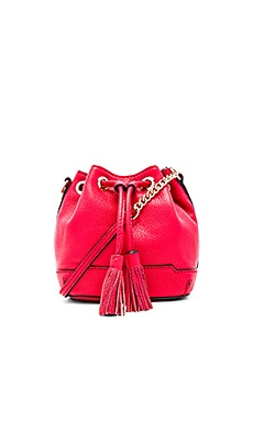 Rebecca Minkoff Micro Lexi Bucket in Cherry