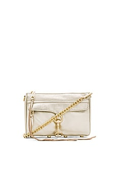 Rebecca Minkoff Mini MAC in Pewter
