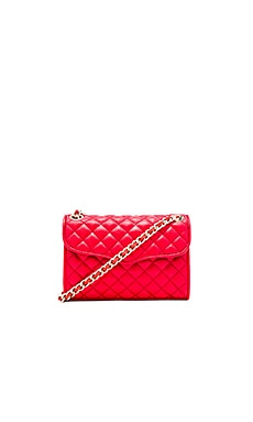 Rebecca Minkoff Quilted Mini Affair in Cherry