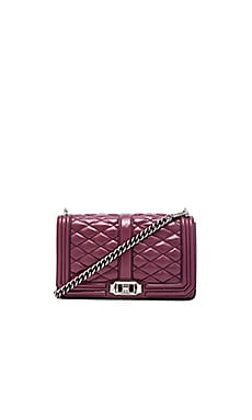 Rebecca Minkoff Love Crossbody Bag in Port