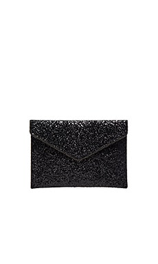 Rebecca Minkoff Leo Clutch in Black