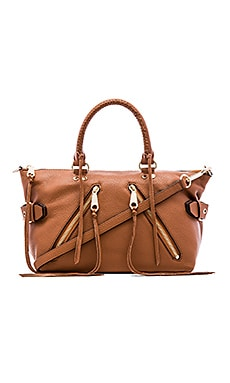 Moto Satchel in Almond
