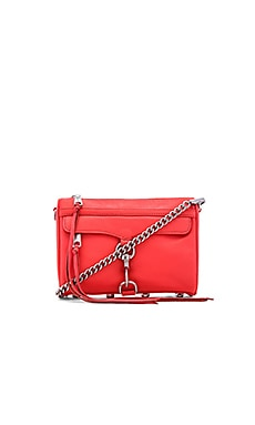 Rebecca Minkoff Mini MAC in Bright Coral