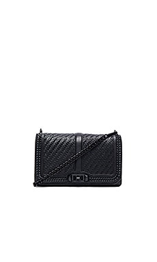 Rebecca Minkoff Love Crossbody in Black