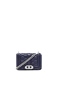 Rebecca Minkoff Mini Love Crossbody in Midnight