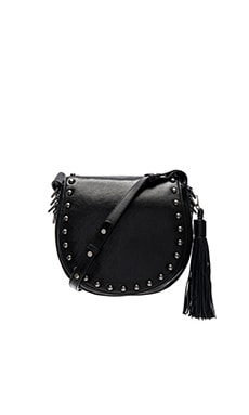Rebecca Minkoff Large Renee Saddle Bag in Black