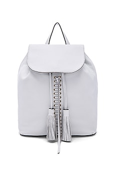 Rebecca Minkoff Moto Backpack in White