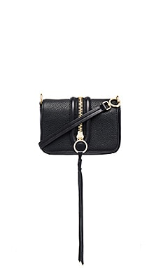 Rebecca Minkoff Mini Mara Crossbody Bag in Black