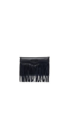 Universal Fringe Crossbody Bag in Black