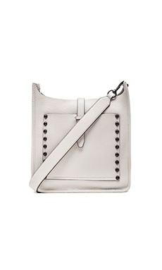 Unlined Feed Crossbody Bag in Putty