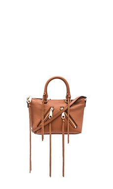 Micro Moto Satchel Bag in Almond