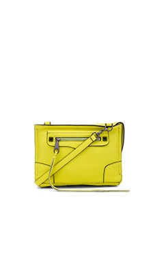 Rebecca Minkoff Regan Crossbody Bag in Limeade
