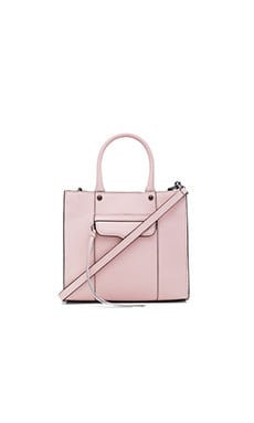 Rebecca Minkoff MAB Mini Tote in Pale Blush
