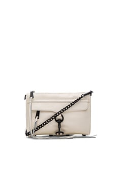 Rebecca Minkoff Mini MAC in Antique White