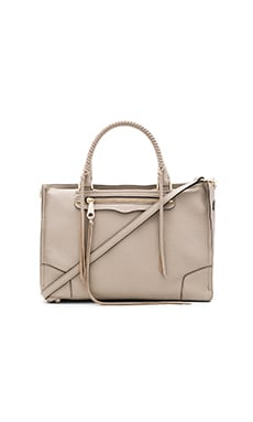 Rebecca Minkoff Regan Satchel Bag in Khaki