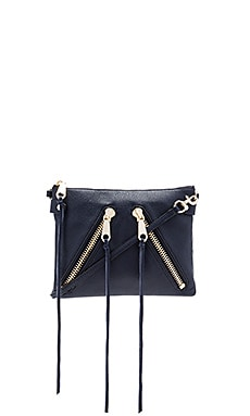 Rebecca Minkoff Moto Jon Crossbody Bag in Moon