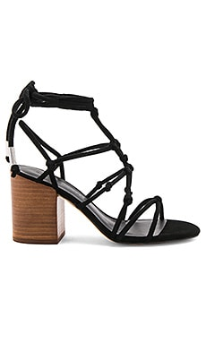 Carmela Heel in Black Nappa