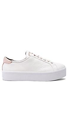 Rebecca Minkoff Saxon Sneaker in White