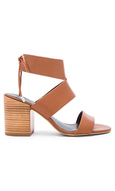 Rebecca Minkoff Christy Heel in Chestnut Vachetta
