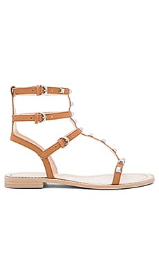 Rebecca Minkoff Georgina Sandal in Butterscotch Vachetta