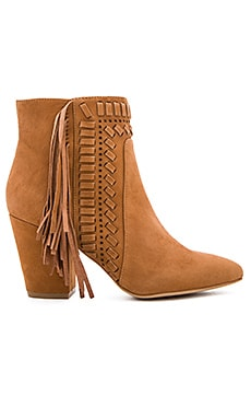 Ilan Bootie in Butterscotch Kid Suede