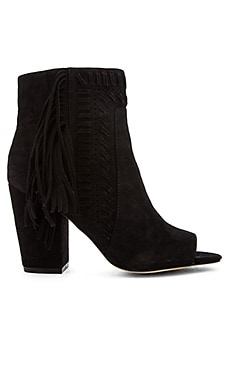 Rebecca Minkoff Iris Heel in Black Kid Suede