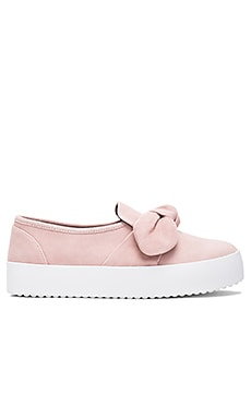 Stacey Slip On in Pale Pink Suede