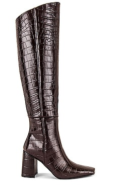 Pointed Square Long Boots Reike Nen $780