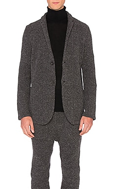 Robert Geller Richard Jacket in Charcoal