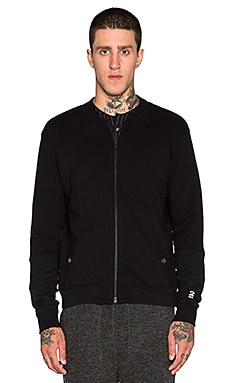Robert Geller Seconds Bomber Jacket in Black