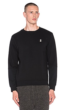 Robert Geller Seconds Sweatshirt in Black