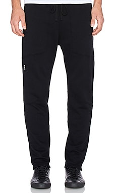 Robert Geller Seconds Warm Up Pant in Black