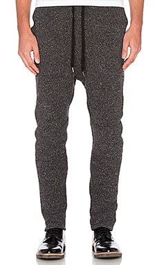 Robert Geller Richard Pants in Charcoal