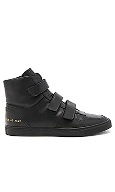 x Common Projects Velcro High Tops