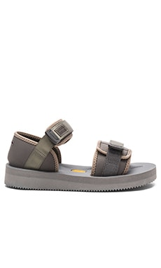Robert Geller x Suicoke Sandal in Grey