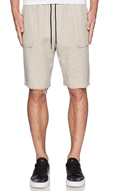 Rochambeau Flap Pocket Short in Beach Tan