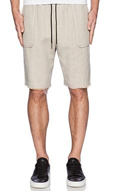 Rochambeau Flap Pocket Short in Beach Tan