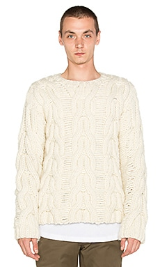 Rochambeau Slush Off Sweater in Ivory