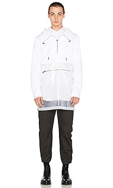 Rochambeau Multifront Cagoule in Print & Clear