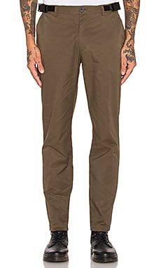 Rochambeau Hard Freeze Zip Pants in Olive
