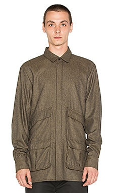 Rochambeau Polarized Shirt in Olive
