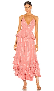 Aria Maxi Dress ROCOCO SAND $453 BEST SELLER