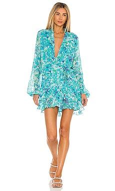 X REVOLVE Nesh Dress ROCOCO SAND $342 BEST SELLER