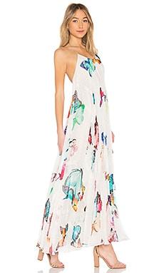 Blossom Maxi Dress ROCOCO SAND $635 BEST SELLER