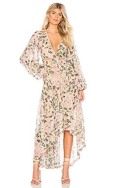 x REVOLVE Flora Maxi Dress ROCOCO SAND $319