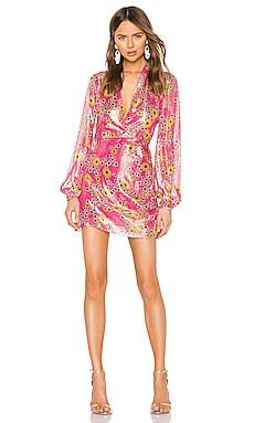 x REVOLVE Floral Dress ROCOCO SAND $86